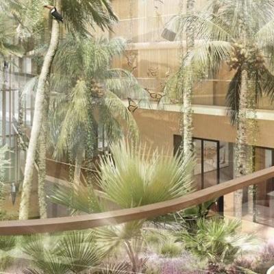 Hotel Jakarta subtropische tuin