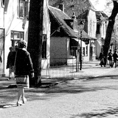 dorpsstraat-vlieland-vroeger
